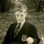 Bodyshot of Peter Kirk as a schoolboy