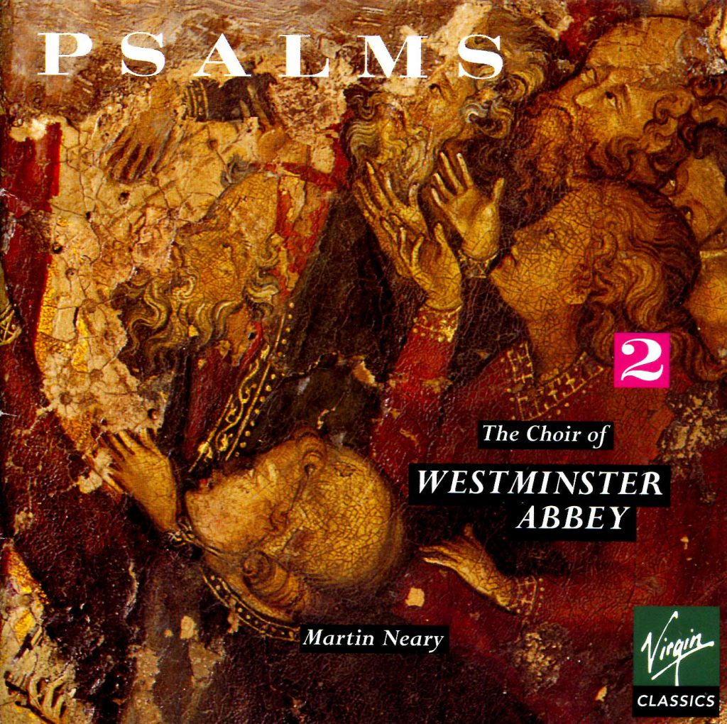 """CD liner notes front cover """"Psalms"""" - Volume 2"""