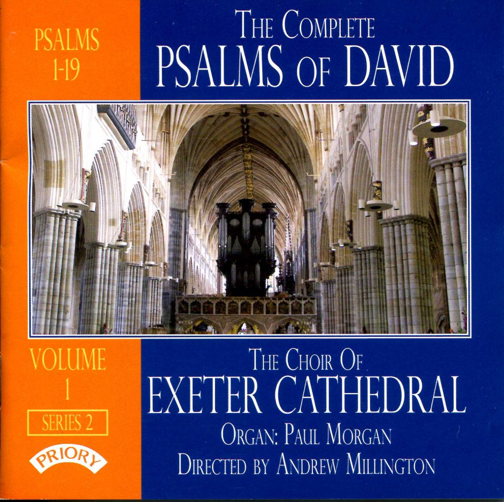 """CD liner notes front cover """"The Complete Psalms of David"""" - Series 2, Volume 1"""