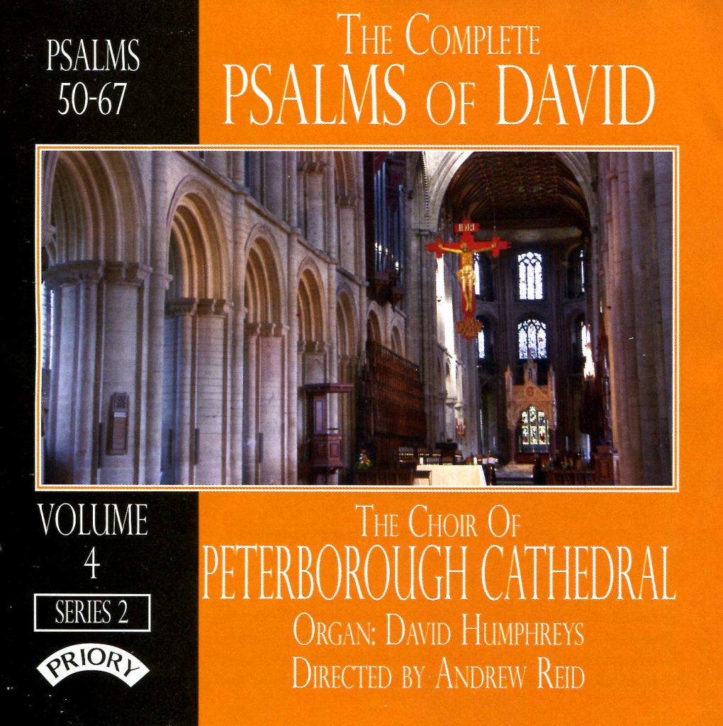 """CD liner notes front cover """"The Complete Psalms of David"""" - Series 2, Volume 4"""