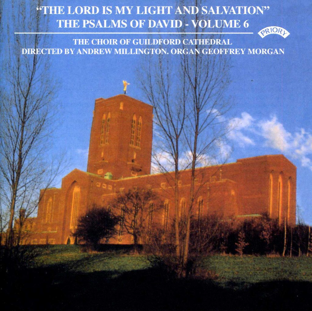 """CD liner notes front cover """"The Lord is my light and my salvation - The Psalms of David"""" - Series 1, Volume 6"""