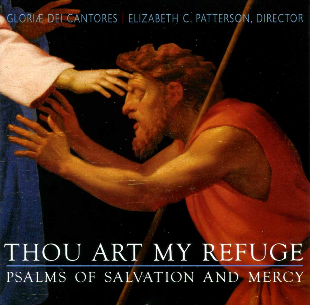 """CD liner notes front cover """"Thou art my Refuge"""""""