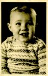 Headshot of Peter Kirk as a baby